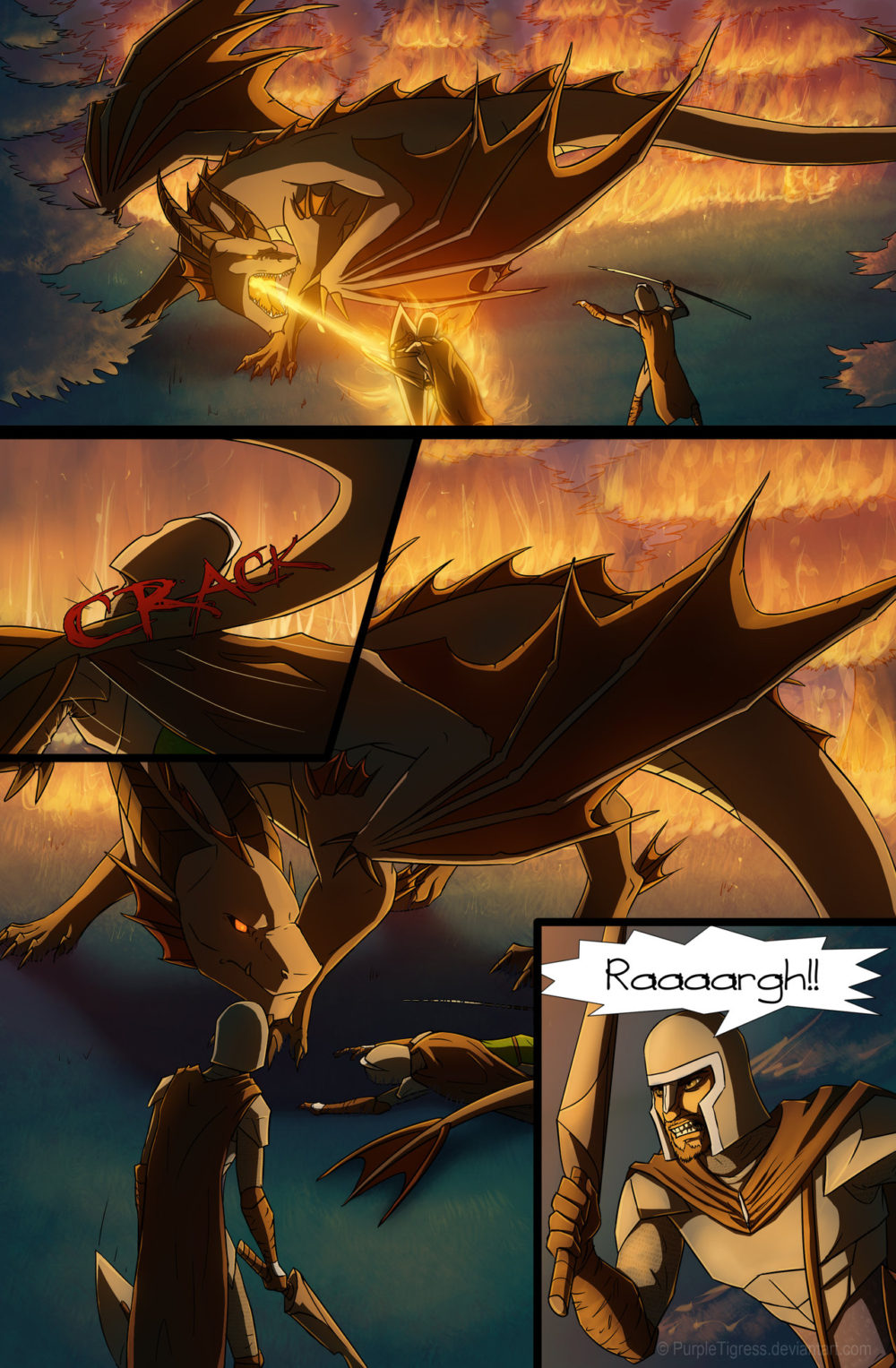 Dragon Delusion - Medieval Fantasy Web Comic